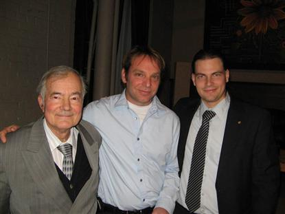 Laurent - nouveau membre St. Lawrence Toastmasters Montreal