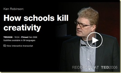 TED Talk Sir Ken Robinson