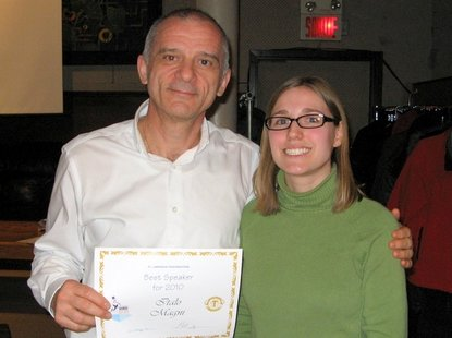Italo - St-Lawrence Toastmasters Montreal