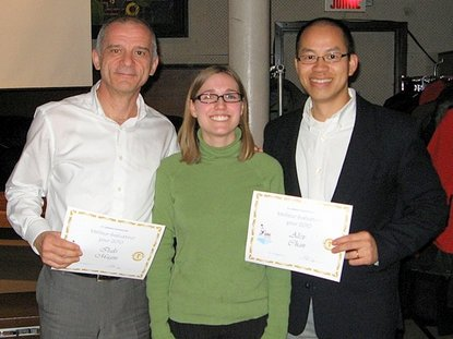 Italo Magni & Alex Chan : St-Lawrence Toastmasters Montreal