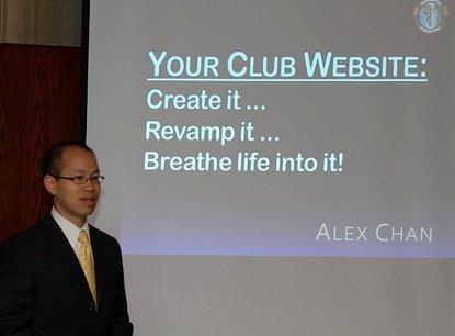 Alex Chan workshop at D61 Toastmaster Spring Conference 2011