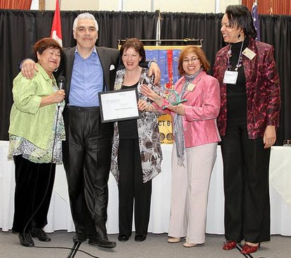 Pietro Di Benedetto wins 2nd prize at D61 Toastmaster Spring Conference 2011