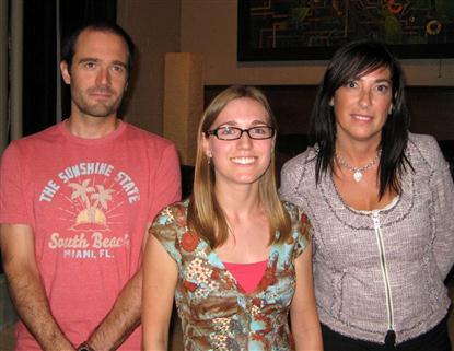 New members: Mathieu Caron, Ann Magnan