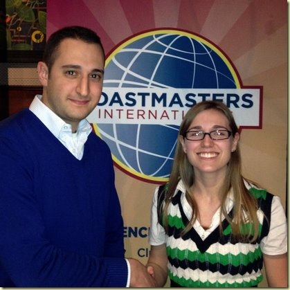 St-Lawrence Toastmasters-Charles