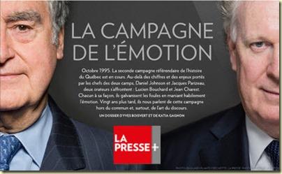 Bouchard Charest La Presse