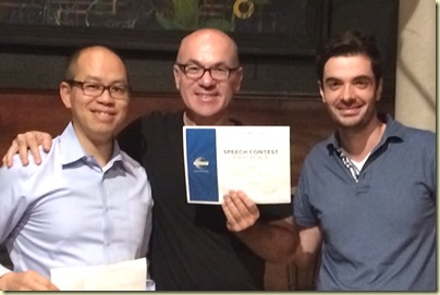 Toastmasters English Evaluation Contest - Gregory Alex