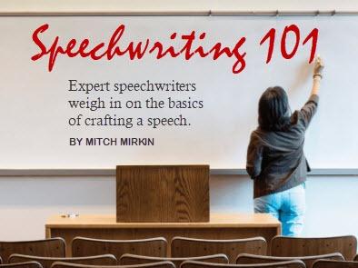 Speechwriting 101