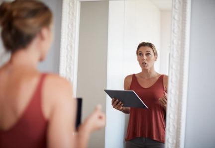 pratiquer-à-parler-devant-le-miroir
